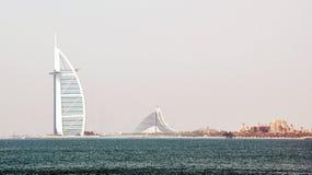 Arabe d'Al de Burj, Dubaï Images libres de droits