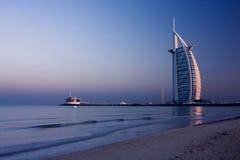 Arabe d'Al de Burj, Dubaï Image libre de droits