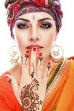 Arabe de femme Images stock