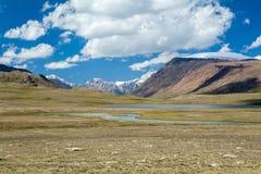 Arabel-Suu jezioro i rzeka. Kirgistan fotografia stock