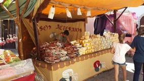 Araben marknadsför Ibiza Spanien royaltyfria bilder