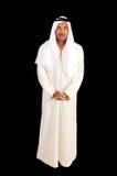 Araber über Schwarzem lizenzfreie stockbilder