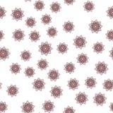 Arabeskendekor Nahtloser Mustervektor lizenzfreie abbildung