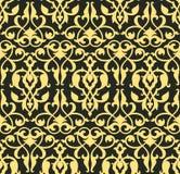 arabeskowa bezszwowa tapeta Zdjęcie Stock