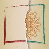 Arabeskowa różyczka royalty ilustracja