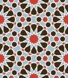 Arabeskowy bezszwowy wzór Zdjęcie Royalty Free