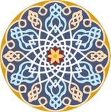 Arabeskowy bezszwowy wzór Fotografia Royalty Free