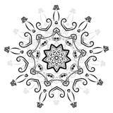 Arabeskowy ornament dla twój projekta Obrazy Royalty Free