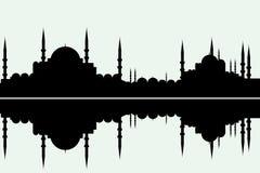 arabeskowy pejzaż miejski Obrazy Royalty Free