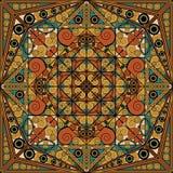 Arabeskowy tło ilustracja wektor