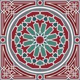 arabesku bezszwowy deseniowy Obraz Royalty Free