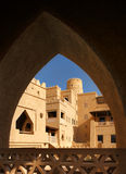 Arabesque architectural detail showing arches Royalty Free Stock Image