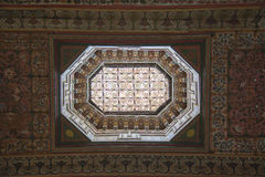 Arabesque architecture ceiling Royalty Free Stock Images