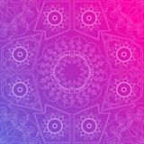 Arabesque background ornament Royalty Free Stock Image