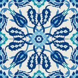 Arabesque damask vintage decor ornate seamless floral decoration Stock Photography