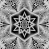 Arabesque de mosaïque de majolique d'Azulejo (Zellige) Tuiles vitrées par modèles géométriques Illustratio graphique détaillé de  Image stock