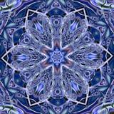 Arabesque de mosaïque de majolique d'Azulejo (Zellige) Tuiles vitrées par modèles géométriques Illustratio graphique détaillé de  Image libre de droits