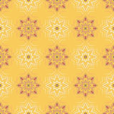 Arabesque decor. Seamless pattern vector. Illustration symmetry Royalty Free Stock Photos