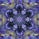 Arabesque del mosaico de la mayólica de Azulejo (Zellige) Tejas esmaltadas modelos geométricos Illustratio gráfico detallado de a ilustración del vector