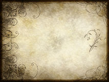 Arabesque design on paper Royalty Free Stock Images