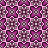 Arabesque em um fundo violeta Fotografia de Stock