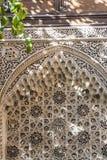 Arabesque filigraanarchitectuur Royalty-vrije Stock Foto's