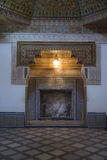 Arabesque fireplace Stock Photography