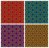 Arabesque Geometric Patterns Royalty Free Stock Image