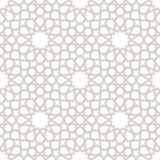 Arabesque Gray Pattern con el fondo blanco Fotografía de archivo
