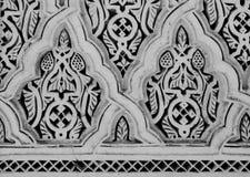 Arabesque in Morocco. Arabesque on a Mosque wall in Morocco Stock Image