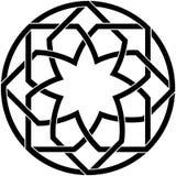 Arabesque naadloos patroon royalty-vrije illustratie