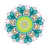 Arabesque ornament for your design Royalty Free Stock Photography