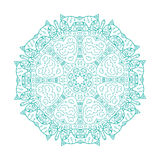 Arabesque ornament for your design Royalty Free Stock Photo