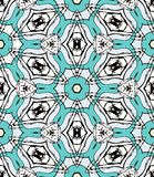 Arabesque pattern design Stock Image