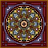 Arabesque pattern stock illustration