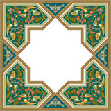 Arabesque pattern. With detailed ornament vector illustration