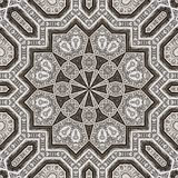 Arabesque pattern engraved metal 002 Stock Images