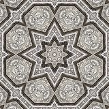 Arabesque pattern engraved metal 001 Stock Images
