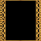 Arabesque Pattern Frame Background Royalty Free Stock Photography