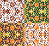 Arabesque pattern set. Arabesque set. Pattern in Moorish style. Arab seamless texture. Element of design. Islamic  background Royalty Free Stock Photos