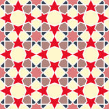 Arabesque pattern. Vector seamless traditional Stock Photography