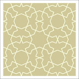 Arabesque pattern Royalty Free Stock Photo
