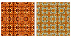Arabesque patterns seamless Stock Photography
