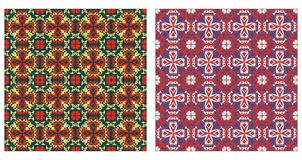 Arabesque patterns seamless Royalty Free Stock Photos