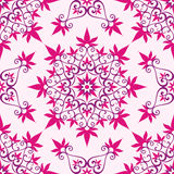 Arabesque on a pink background Stock Image