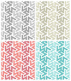 Arabesque Repeat Patterns vector illustration