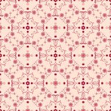Arabesque seamless background. In red. Oriental style seamless pattern for website, wallpapers, textile, upholstery and wrapping paper Stock Images
