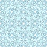 Arabesque seamless beautiful background pattern Stock Photography