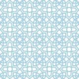 Arabesque seamless beautiful background pattern Stock Photo