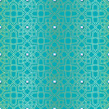 Arabesque seamless beautiful background pattern Royalty Free Stock Photos